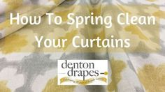 Posts about Soft Furnishing Tips written by Denton Drapes Types Of Window Treatments, Window Cleaner, Bed Throws, Drapes Curtains, Spring Cleaning, Soft Furnishings, Kids And Parenting, Clean House, Cleaning Hacks