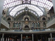 Antwerp Central Station- I can't wait to visit!