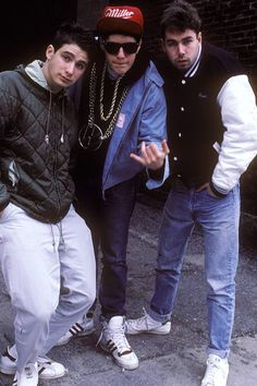 This is how I picture the Beastie Boys!