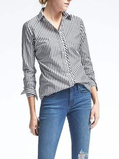 Thicker bengal stripes are a plus-if we can find something other then the Cutter & Buck shirt