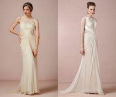 Wedding Dress With High Neckline