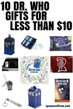 a0f4f603531d 10 Can t Miss Dr. Who Gifts for Less than  10!