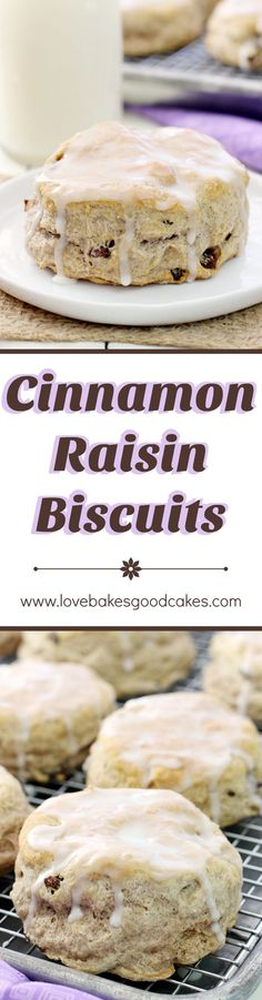A quick and easy breakfast treat, these Cinnamon Raisin Biscuits will be a hit with the family! AD