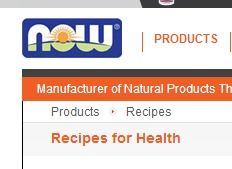 NOW FOODS - Recipes | http://www.nowfoods.com/Products/Recipes/  |  #recipes #organic #vegan #healthy #food #glutenfree #vegetarian