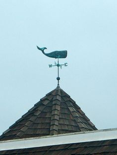 New England style weather vane for my future beach house. Lightning Rod, Nantucket Island, Weather Vanes, New England Style, Beach Cottages, Coastal Living, Cape Cod, Nautical, The Hamptons