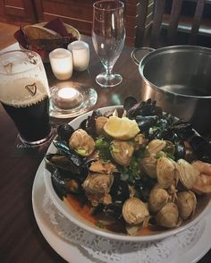 [i ate] local shellfish hot pot drenched in spicy thai curry in kinvara ireland http://ift.tt/2f7KYrI