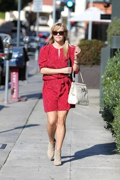 Reese Witherspoon Beaded Dress - Reese Witherspoon Looks - StyleBistro