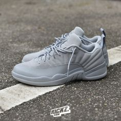 d72136f8c7ddea Air Jordan 12 Retro Low (wolf grey). Gettin low low low low low...   airjordan12  aj12  kickzcom