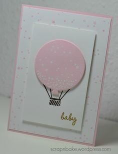 Stampin' UP! - Celebrate Today - Baby - Card - Karte