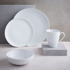 Organic Shaped Dinnerware Set | west elm