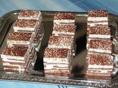 Smotanový zákusok, recept, Nepečené zákusky | Tortyodmamy.sk Gluten, Dessert Recipes, Desserts, Tiramisu, Food Porn, Food And Drink, Cake, Ethnic Recipes, 3