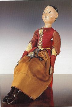Doll of Susanna Huygens, ca. 1644 - Huygensmuseum Hofwijck, Voorburg (just out of period, but amazing!) Pelit, Lapset