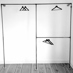 Open wardrobe ONE TWO // Offener Kleiderschrank ONE TWO