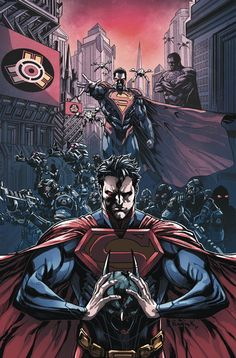 #Injustice #Fan #Art. (Injustice Gods Among Us. Year Two, Chapter One. Vol.1 Cover) By: Jheremy Raapack. (THE * 5 * STÅR * ÅWARD * OF: * AW YEAH, IT'S MAJOR ÅWESOMENESS!!!™)[THANK Ü 4 PINNING!!!<·><]<©>ÅÅÅ+(OB4E)