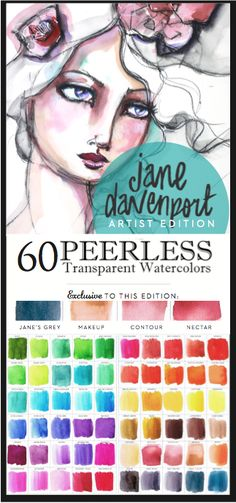 Jane Davenport Peerless Watercolors $59.00