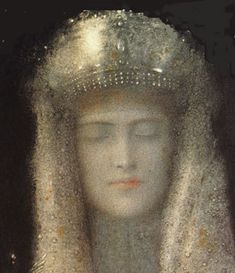 The highest form of human intelligence is to observe yourself without judgement ~ Krishnamurti  (art;fernand.khnopff)