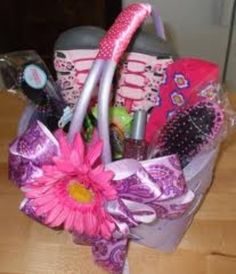 Big girl easter basket gifts pinterest easter baskets and easter girls easter basket negle Image collections