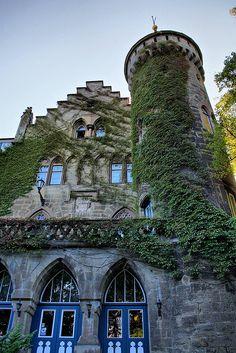 Schloss Landsberg near Meiningen in Thuringia, Germany (by Wutzman).
