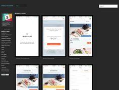 【Mobile Patterns】收集許多Mobile App UI的畫面,依照功能類別區分,不錯的參考網站