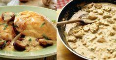 Le poulet à la crème et aux champignons, une recette facile et délicieuse !