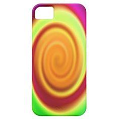 #Rainbow Swirl #Abstract Pattern #iPhone 5 Case $44.95