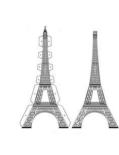эйфелева башня картинки сделать из бумаги этом случае приключения