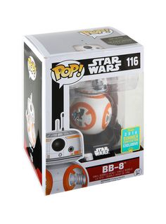 FUNKO POP STAR WARS BB-8 THUMBS UP 2016 Summer Convention EXCLUSIVE #116 C