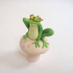 Frog Prince by Jtnee on Etsy, $39.00