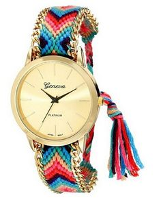 awesome New Geneva Gold Dial Thread Knitted Alloy Chain Women Ladies Bracelet Watch Jewelry #5 - For Sale Check more at http://shipperscentral.com/wp/product/new-geneva-gold-dial-thread-knitted-alloy-chain-women-ladies-bracelet-watch-jewelry-5-for-sale/