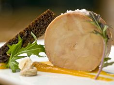 Bourbon Steak's attention to presentation detail is evident in the chilled foie gras. (Photo: John Samora/The Republic)