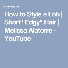 """How to Style a Lob 