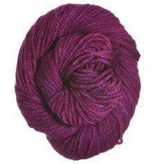 Holiday Yarns Wooley Ewe Worsted Yarn - Fuchsia Fusion #Microbrew