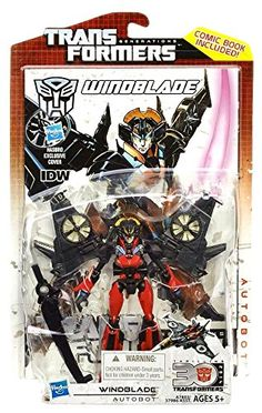 Transformers Generations Deluxe Windblade - Created by Fans for Fans Transformers Action Figures, Transformers Optimus Prime, Robot Action Figures, Beast Machines, Funny Toys, 30th Anniversary, Toy Store, Novels, Animation