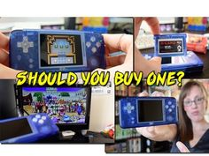 REVO K101 Plus Review - GBA Console Clone device & Emulation review - Sh...