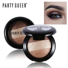 Party Queen Diamond Dust Shimmer Mineralize Trio Eyeshadow Palette