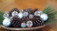 Centro de mesa de Natal - Enfeite para o dia a dia - DIY fácil