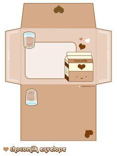 Chocomilk Envelope by riaherod.deviantart.com on @deviantART
