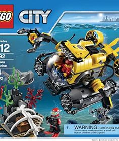 [LEGO City Deep Sea Explorers Submarine Building Kit](http://amzn.to/1jLBArU) | LEGO City Deep Sea Explorers 60092 Submarine Building Kit