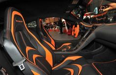The 50 Most Outrageous Custom Car Interiors - Mansory McLaren Mclaren Slr, Mclaren Mp4 12c, Car Interior Upholstery, Custom Car Interior, Mc Laren, Car Mods, Car Wrap, Car Wallpapers, Automotive Design