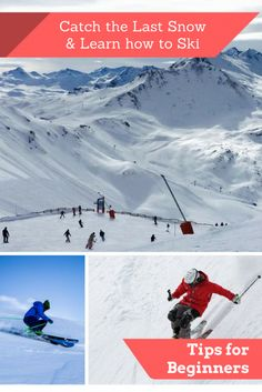 Last of The Falling Snow: A Great Time For Ski Slope Newbies