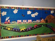 transportation bulletin board preschool   Bulletin Boards