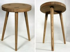 The Wooden Asta Stool is a Simple Seat Inspired by Carpentry Clamps | Inhabitat - Sustainable Design Innovation, Eco Architecture, Green Building