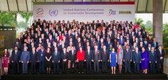 World leaders attending Rio+20, via Flickr.
