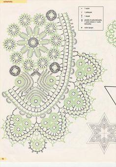 szyd Filet Crochet, Crochet Diagram, Crochet Chart, Irish Crochet, Free Crochet Doily Patterns, Crochet Doilies, Crochet Lace, Lace Doilies, Tablecloth Fabric