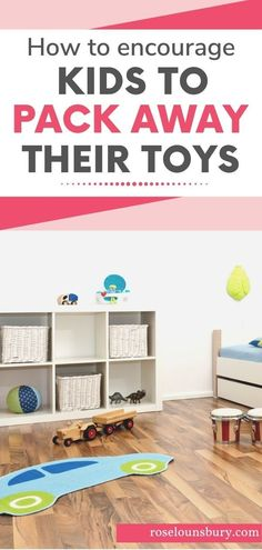 Need an effective strategy to declutter your kid's bedroom and convince your kids to pack away their toys and clean up their room? Its easier than you realise? See our tried and tested minimalist parenting hacks, and minimalist family advice here. Kids Bedroom Organization, Playroom Decor, Declutter Your Home, Organize Your Life, Minimalist Parenting, Barbie Go, Bedroom Corner, Home Management, Parenting Hacks