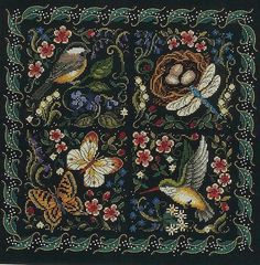 What a beautiful crosstitch pattern.--Site is Russian, but the pattern is there and colors are listed in English