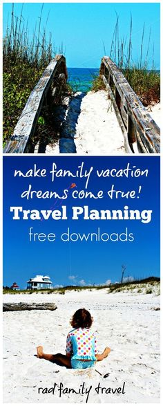 Need help making family vacation dreams come true? Reconnect through adventure and discovery - get started with these FREE travel planning printables and downloadable budget spreadsheet. Make lifetime memories with road trips to beaches, mountains, national parks, cities, and flying to foreign countries. Start here.