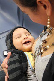 Happy #breastfeeding baby. :)