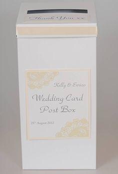 Personalised Wedding Post Box - Easy to DIY