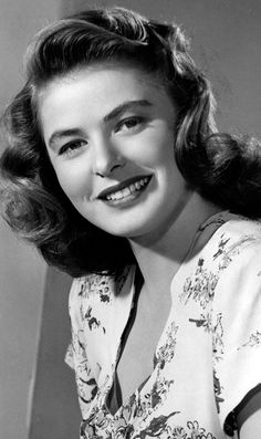 Ingrid Bergman 1940's